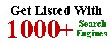 Get listed with hundreds of search engines